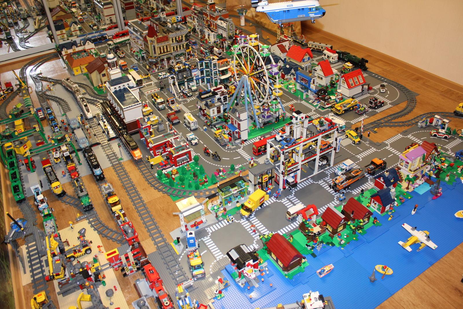 Как построить лего город своими руками 13