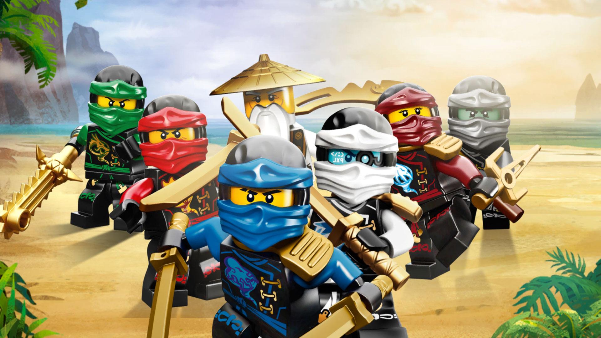 Все персонажи ниндзяго