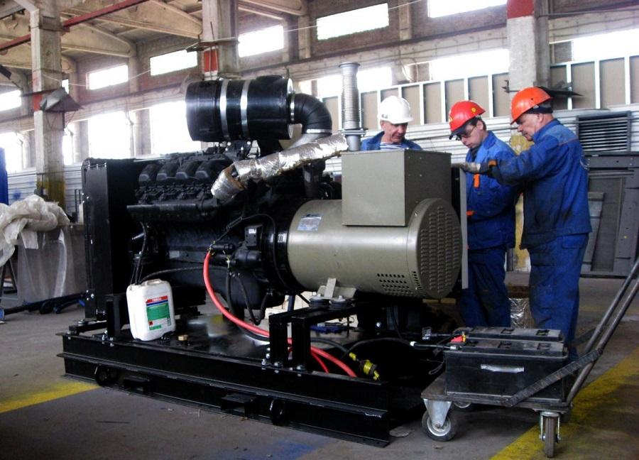 высокомощные дизельные генераторы